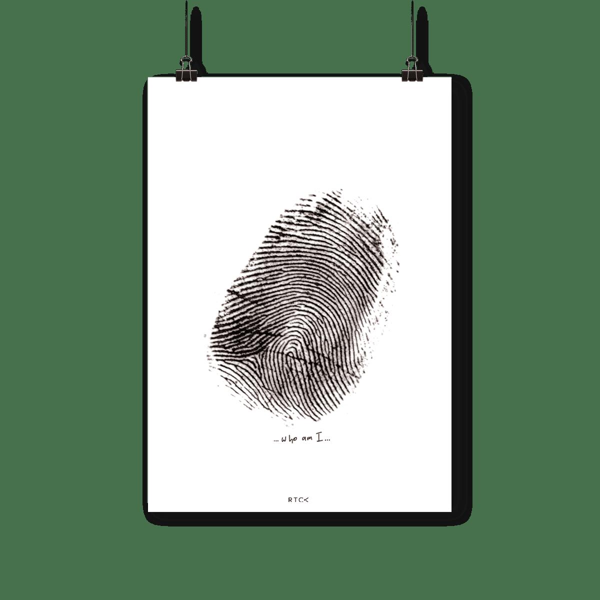 Plakat Tożsamość