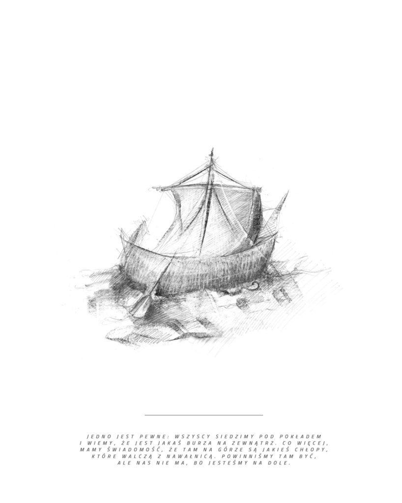 Projekt Jonasz Ilustracja z książki